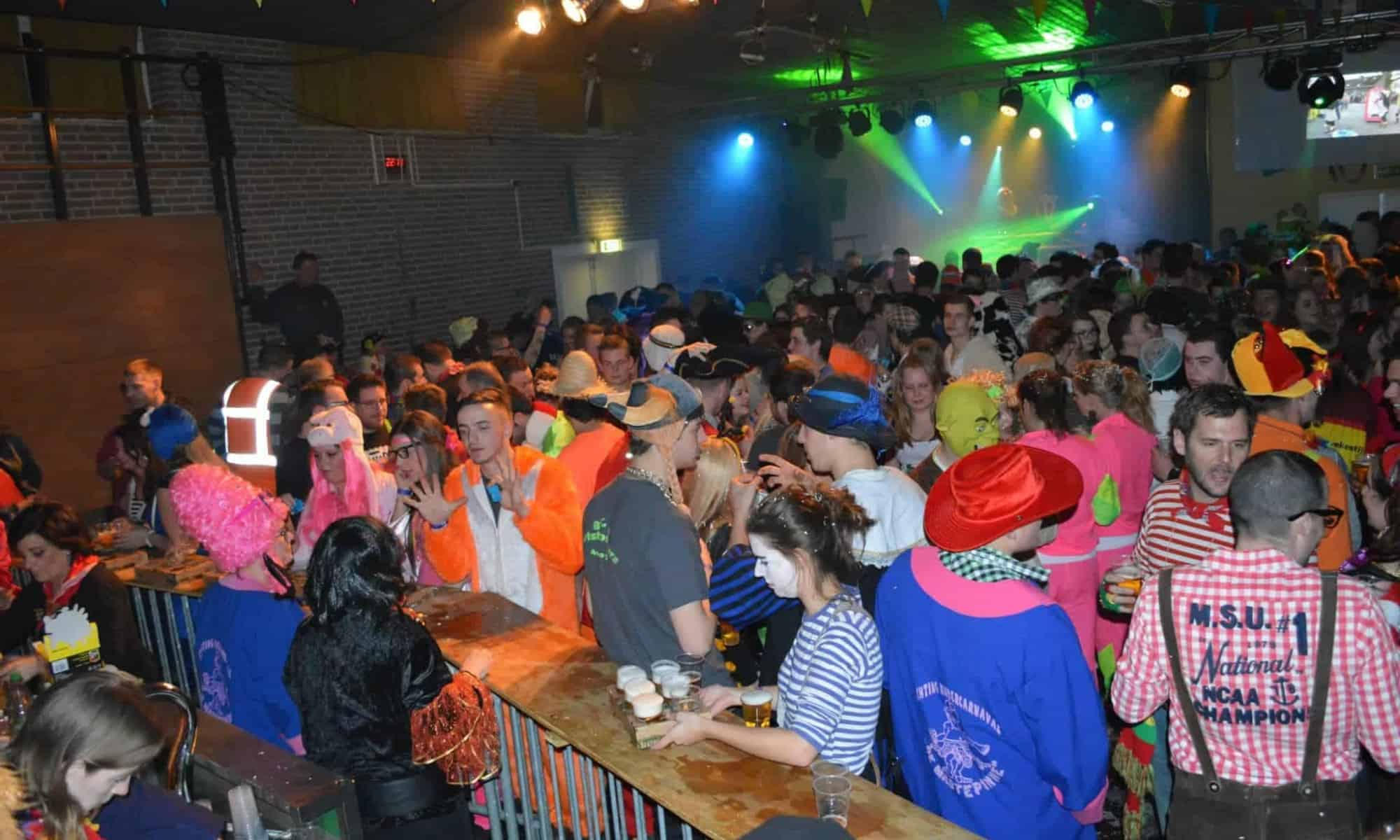 Carnavalsbal Wouwse Plantage Roosendaal, feest