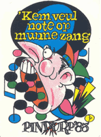 Insigne 1985 Kem veul note op munne zang (1979 tot 1990)