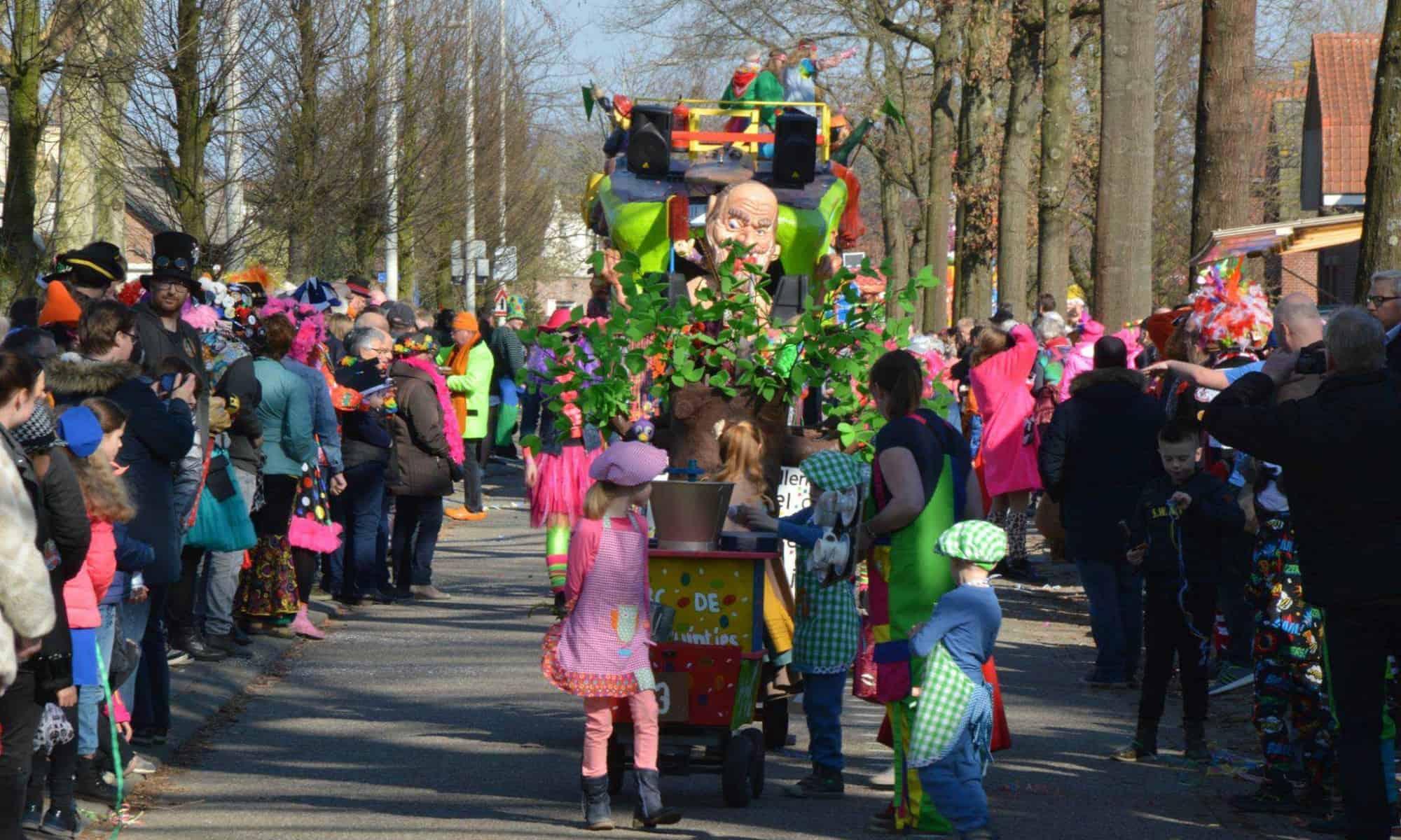 Uitslag carnavalsoptocht Wouwse Plantage